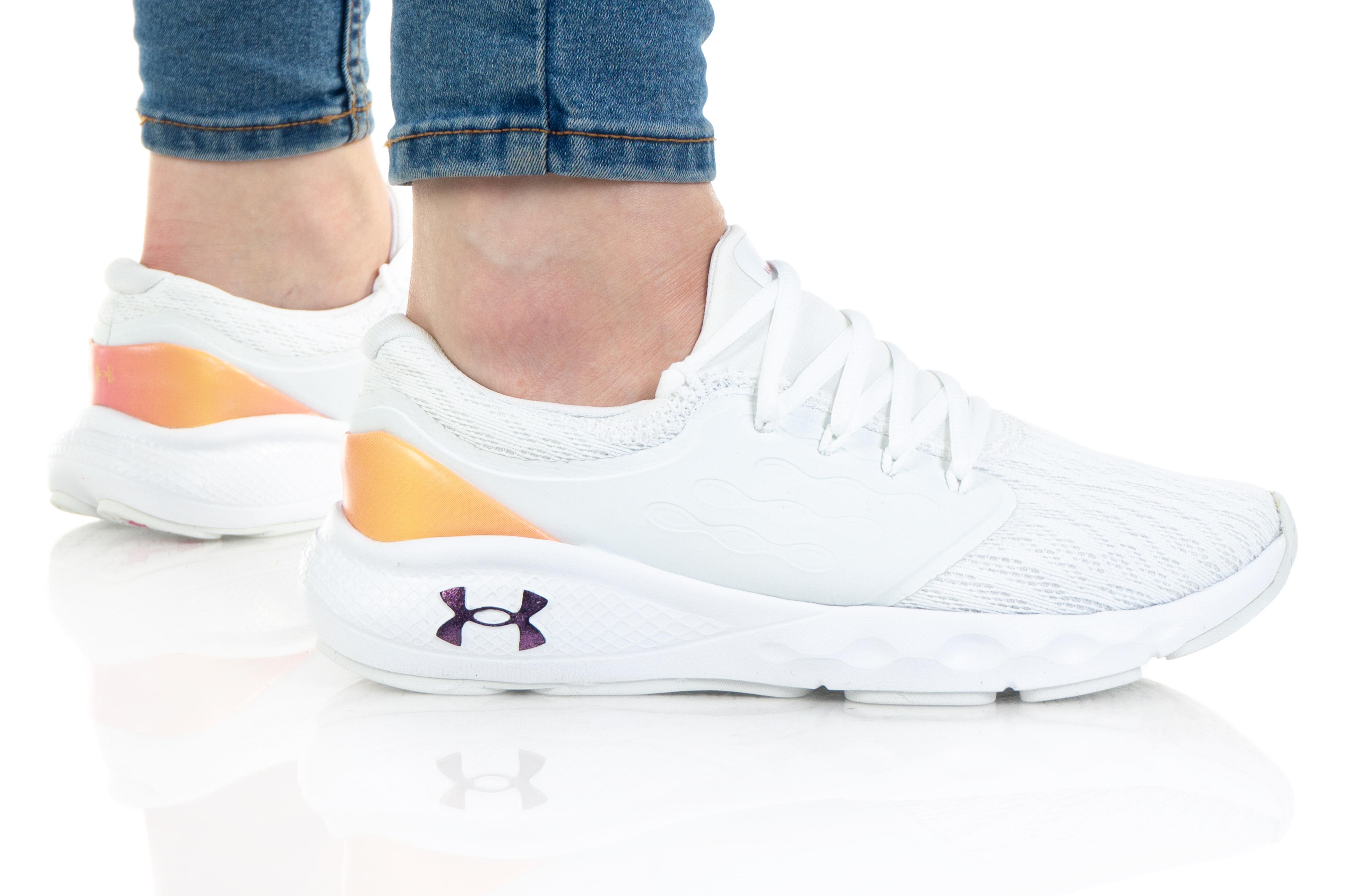 נעלי ריצה אנדר ארמור לנשים Under Armour Charged Vantage ClrShft - לבן