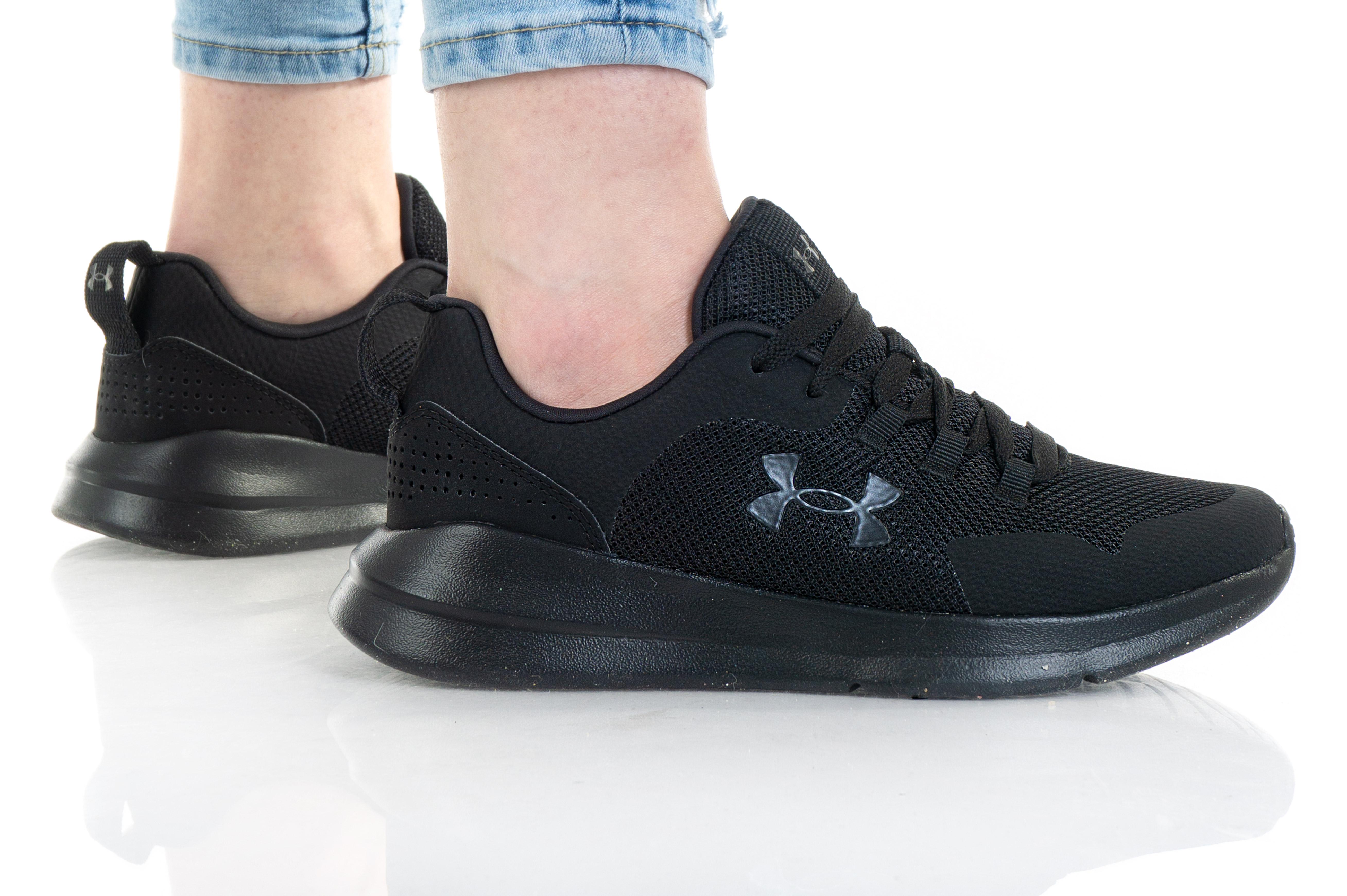 נעלי ריצה אנדר ארמור לנשים Under Armour Essential - שחור