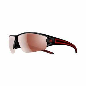 משקפי שמש אדידס לגברים Adidas Evil Eye Halfrim - שחור/אדום