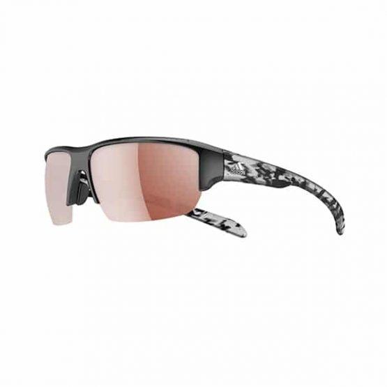 משקפי שמש אדידס לגברים Adidas kumacross halfrim - שחור/לבן