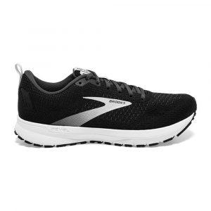 נעלי ריצה ברוקס לגברים Brooks 4 Revel - שחור/לבן