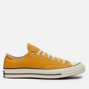נעלי סניקרס קונברס לגברים Converse CHUCK TAYLOR ALL STAR 70 - צהוב