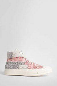 נעלי סניקרס קונברס לגברים Converse multicolor chuck 70 hi - צבעוני/לבן