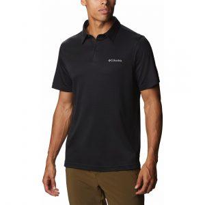 חולצת פולו קולומביה לגברים Columbia SUN RIDGE POLO II - שחור