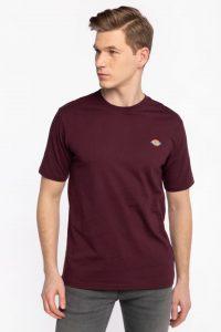 חולצת T Dickies לגברים Dickies MAPLETON - בורדו