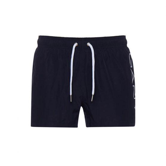 בגד ים גאנט לגברים GANT Logo Lightweight - כחול