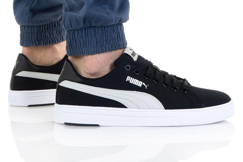 נעלי סניקרס פומה לגברים PUMA SERVE PRO LITE CV - שחור/לבן