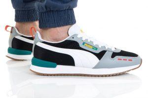 נעלי סניקרס פומה לגברים PUMA R78 OG - צבעוני