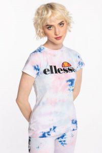 חולצת T אלסה לנשים Ellesse HAYES TIE - צבעוני בהיר