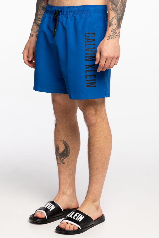 בגד ים קלווין קליין לגברים Calvin Klein DRAWSTRING - כחול