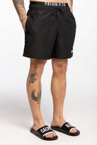 בגד ים קלווין קליין לגברים Calvin Klein BANADOR CORTO - שחור