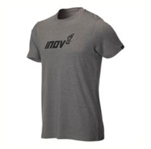 חולצת אימון אינוב 8 לגברים Inov 8 AT C TRI BLEND TEE - אפור כהה