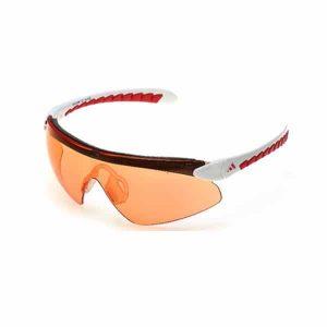 משקפי שמש אדידס לגברים Adidas Supernova Pro - לבן/אדום