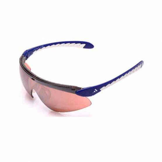 משקפי שמש אדידס לגברים Adidas Supernova Pro - כחול/לבן