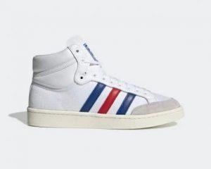 נעלי סניקרס אדידס לגברים Adidas AMERICANA HI - לבן  כחול  אדום