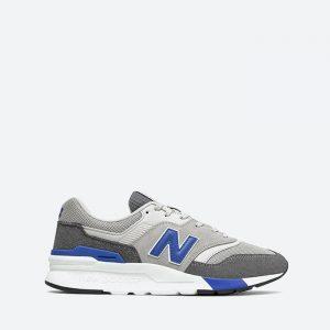 נעלי סניקרס ניו באלאנס לגברים New Balance CM997 - אפור מלא