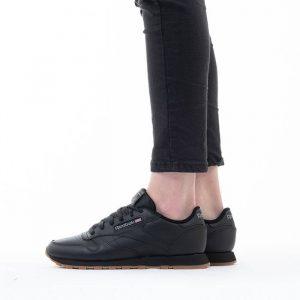 נעלי סניקרס ריבוק לגברים Reebok Classic leather - שחור