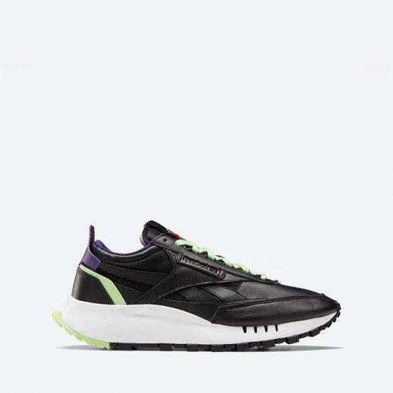 נעלי סניקרס ריבוק לגברים Reebok Classic Legacy - שחור/ירוק