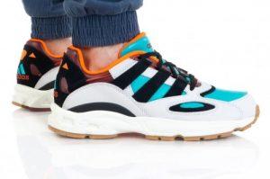 נעלי סניקרס אדידס לגברים Adidas Originals LXCON 94 - צבעוני בהיר