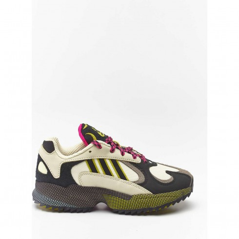 נעלי סניקרס אדידס לנשים Adidas YUNG 1 - צבעוני כהה