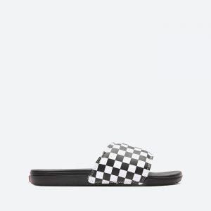 כפכפי ואנס לגברים Vans La Costa Slide-On - שחור/לבן