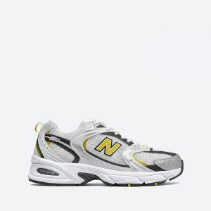 נעלי סניקרס ניו באלאנס לגברים New Balance MR530 - לבן/צהוב