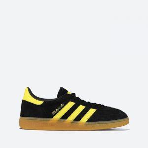 נעלי סניקרס אדידס לגברים Adidas Originals Handball Spezial - שחור/צהוב