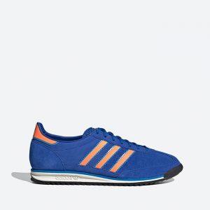 נעלי סניקרס אדידס לגברים Adidas Originals SL 72 - כחול/כתום