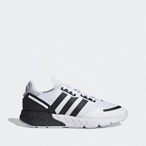 נעלי ריצה אדידס לגברים Adidas Originals Zx 1K Boost - לבן/שחור