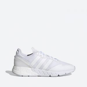נעלי ריצה אדידס לגברים Adidas Originals Zx 1K Boost - לבן מלא