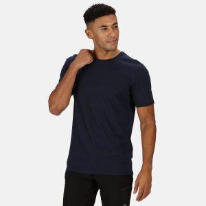 חולצת T רגטה לגברים Regatta TAIT - כחול