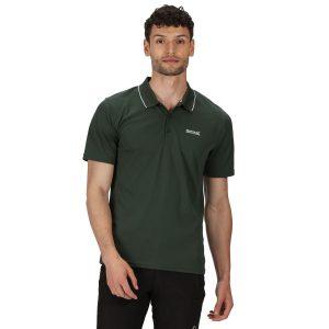 חולצת פולו רגטה לגברים Regatta MAVERIK V - ירוק