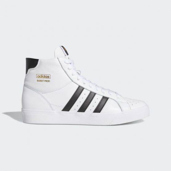 נעלי סניקרס אדידס לגברים Adidas BASKET PROFI - לבן/שחור