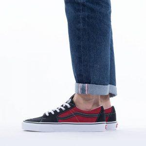 נעלי סניקרס ואנס לגברים Vans Sk8-Low - אדום