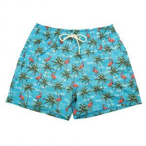 בגד ים טו לפט פיט לגברים TWO LEFT FEET SWIM TRUNK - צבעוני בהיר