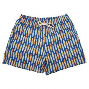בגד ים טו לפט פיט לגברים TWO LEFT FEET SWIM TRUNK - כחול