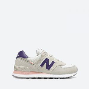 נעלי סניקרס ניו באלאנס לנשים New Balance WL574 - סגול/צבעוני