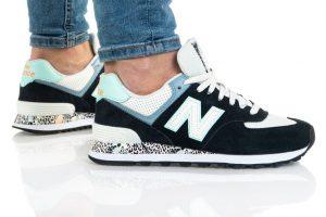 נעלי סניקרס ניו באלאנס לנשים New Balance WL574 - צבעוני/שחור
