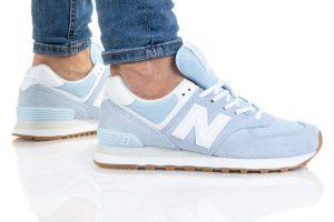 נעלי סניקרס ניו באלאנס לנשים New Balance WL574 - תכלת