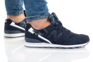 נעלי סניקרס ניו באלאנס לנשים New Balance WL996 - כחול/לבן