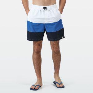 בגד ים רגטה לגברים Regatta BRATCHMAR - לבן/ כחול