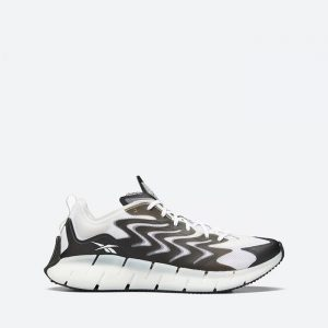 נעלי סניקרס ריבוק לגברים Reebok Zig Kinetica 21 - שחור/לבן