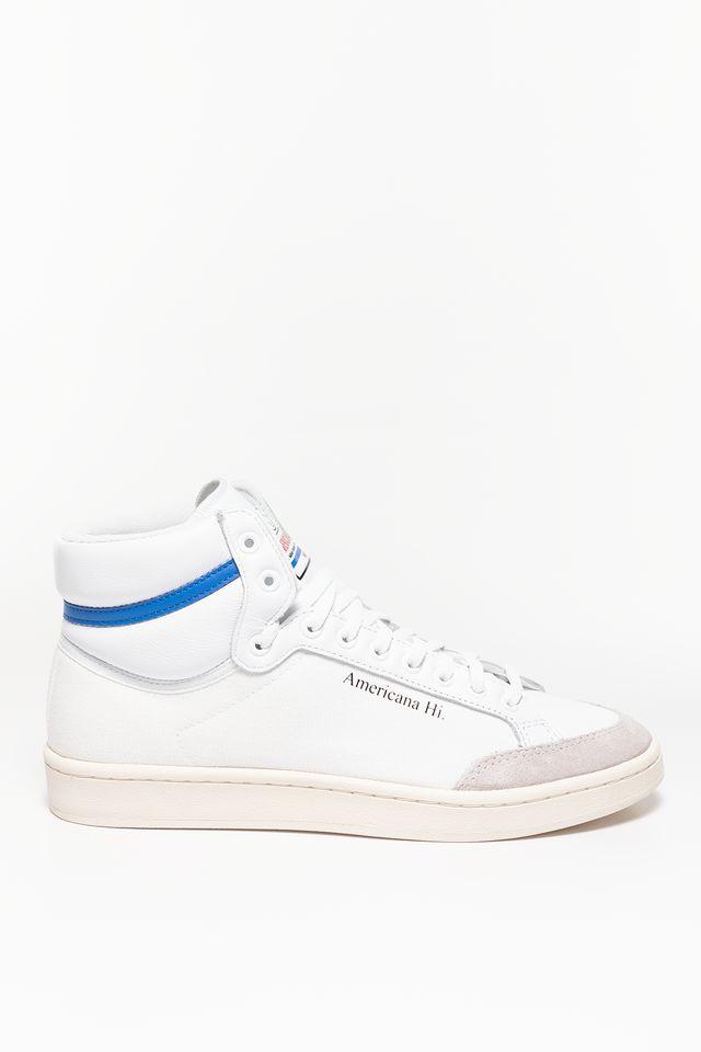 נעלי סניקרס אדידס לגברים Adidas Americana Hi - לבן