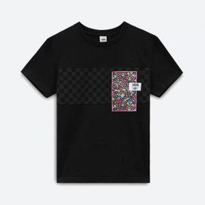 חולצת T ואנס לנשים Vans x Liberty Fabrics - שחור