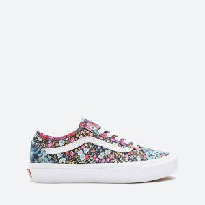 נעלי סניקרס ואנס לנשים Vans x Liberty Fabrics UA Old Skool - צבעוני/לבן