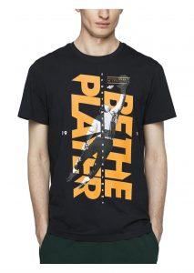 חולצת T פור אף לגברים 4F H4L21 TSM012 - שחור