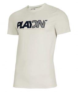 חולצת T פור אף לגברים 4F H4L21 TSM013 - לבן
