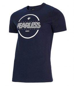 חולצת T פור אף לגברים 4F H4L21 TSM015 - כחול כהה