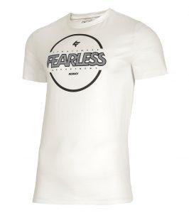 חולצת T פור אף לגברים 4F H4L21 TSM015 - לבן