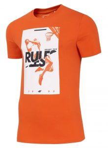 חולצת T פור אף לגברים 4F RULES - כתום
